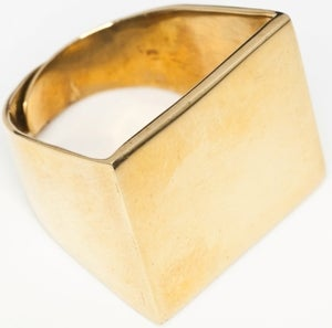 Image of RECTANGLE - Brass Ring