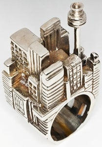 Image of Lost City - White Bronze Ring