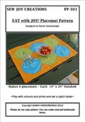 Image of Eat with JOY! Placemat Pattern