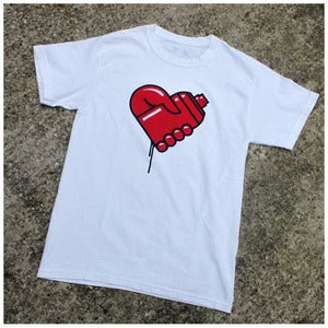 Image of Graffiti Love Tee (White)