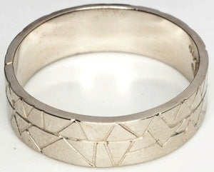 Image of New World - White Bronze Ring Band