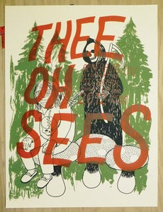 Image of Thee Oh Sees Pitchfork 2012 Poster
