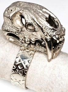Image of Saber Tooth - White Bronze Ring