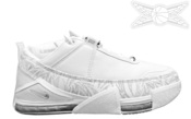 Image of Nike Zoom LeBron 2 Low White