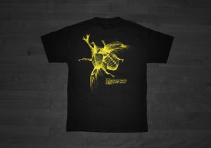 "Image of ""KABUTOMUSHI"" Tee (Black)"