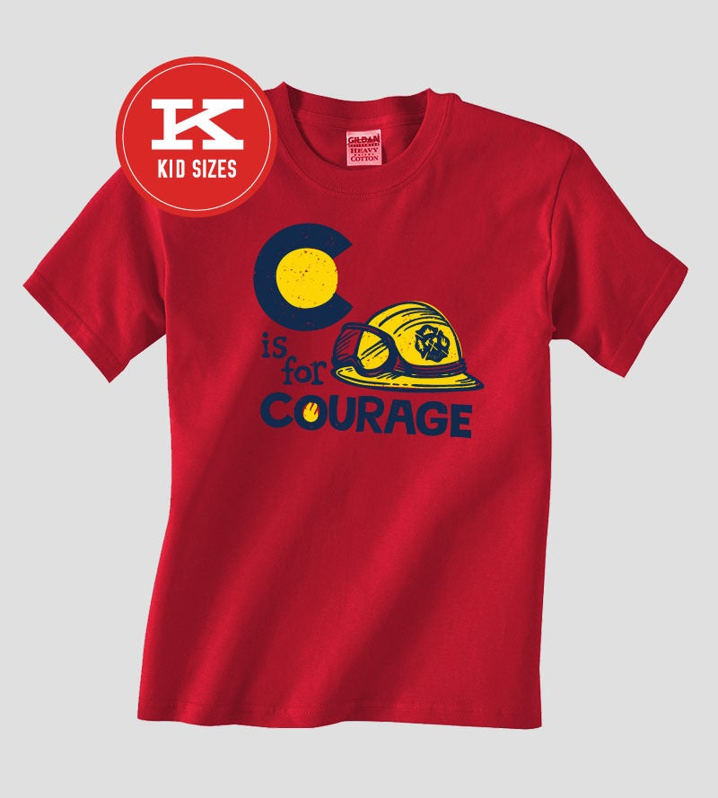 Image of C is for Courage (Kids) - Batch 4 | Designed by Luke Flowers