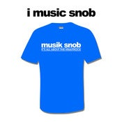 Image of IT'S ALL ABOUT THE KRAUTROCK T-Shirt (Royal Blue)