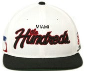 Image of NEW! The Hundreds Miami City Script Snapback Hat Collection