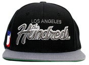 Image of NEW! The Hundreds Los Angeles City Script Snapback Hat Collection