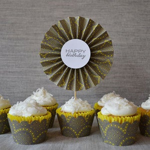 Image of Cupcake Wrappers-New Designs