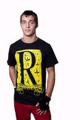 "Image of REMNANTS ""R"" T-shirt Black/Yellow"