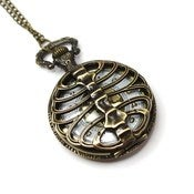 Image of Rib Cage Pocket Watch