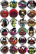 Image of MONSTERS, WEIRDOS & CREEPS BUTTONS