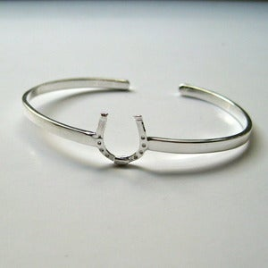 Image of Lucky Horseshoe Cuff