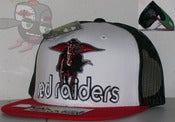 Image of Texas Tech Red Raiders Tri Color Mesh Snapback Hat Cap