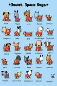 Image of Soviet Space Dogs Large Print