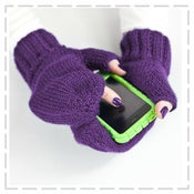 Image of iMitt© Texting Mitten Organic Knitting Kit - 1/2 price!