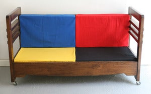 Image of BANQUETTE / LIT ENFANT ART DCO RESTAUR REF.0014