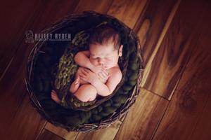 Image of Olive Big Bump Blanket *Devoted Knits Original*
