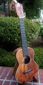 Image of LoPrinzi Figured Koa Model D Tenor