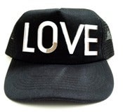 Image of LOVE Mesh Snapback Hat