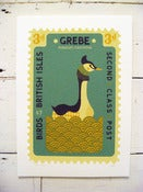 Image of Large Grebe Stamp