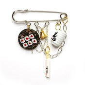 Image of Sushi Party Charm Pin