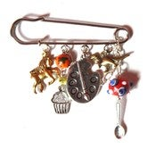 Image of NEW!!! Special Commission Kilt-Pin Brooch!
