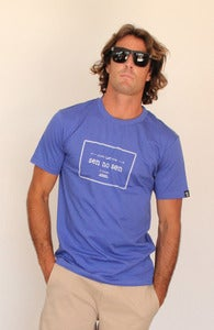 "Image of SEN NO SEN t-shirt ""proudly made"" royal blue"