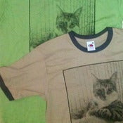Image of Big Scary Monsters cat t-shirt
