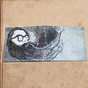 "Image of Ginsberg ""howl"" wallet - restocked"