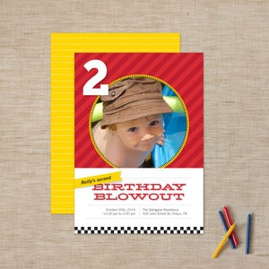 Image of Blowout Children's Party Invitations