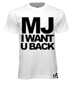 "Image of MJ ""I Want U Back"" Tee"