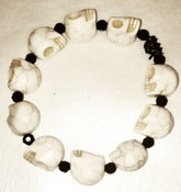 Image of White Skull Bracelet
