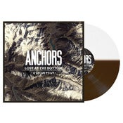 "Image of Anchors- ""Lost At The Bottom of The World"" (Brown and White Half and Half Vinyl)"