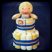 Image of 2-Tier Nautical &lt;br&gt;(Baby Neutral)