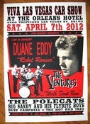 Image of VLV Rockabilly Weekend #15  Duane Eddy Car Show Poster