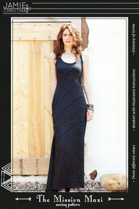 Image of Jamie Christina Mission Maxi Dress Sewing Pattern