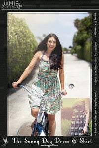 Image of Jamie Christina Sunny Day Dress and Skirt Pattern