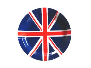 Image of British Union Jack Paper Plates