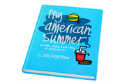 Image of Jon Burgerman 'My American Summer' Book