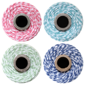 Image of COLOR QUARTET - 4 spools - Ocean, Strawberry, Midnight Blue &amp; Seaweed