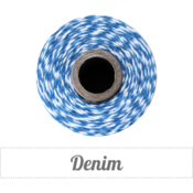 Image of Denim - Blue & White Baker's Twine