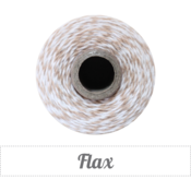 Image of Flax - Light Khaki &amp; White Baker's Twine