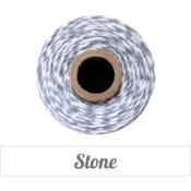 Image of Stone - Gray & White Baker's Twine