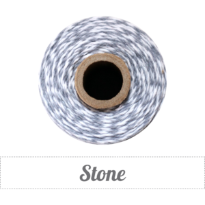 Image of Stone - Gray & White Baker's Twine