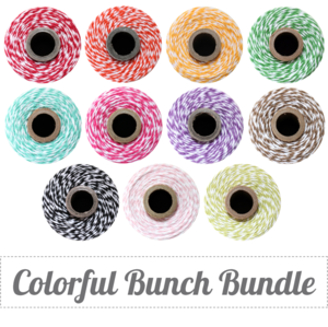 Image of Colorful Bunch Bundle - 11 Full Twine Spools