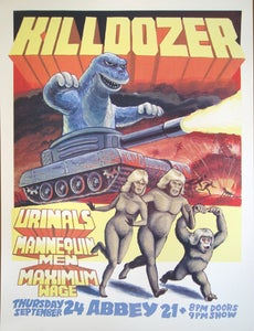 Image of Killdozer Gig Poster