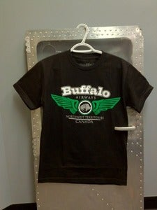 Image of &quot;Buffalo Wings&quot; Black
