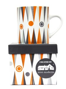 Image of Backgammon Porcelain Mug - Game Plan
